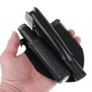 Mini Pelle de Survie Multifonction - 4 en 1