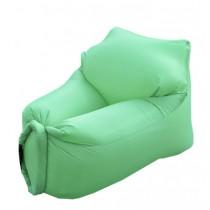 Chaise gonflable à l'air avec sa sacoche